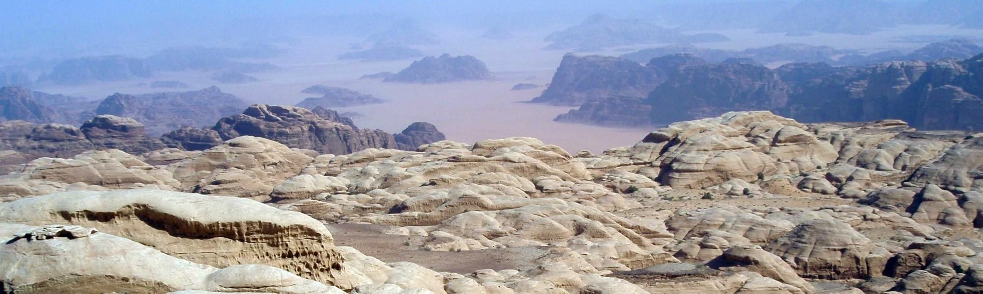 escalade grandes voies Wadi Rum