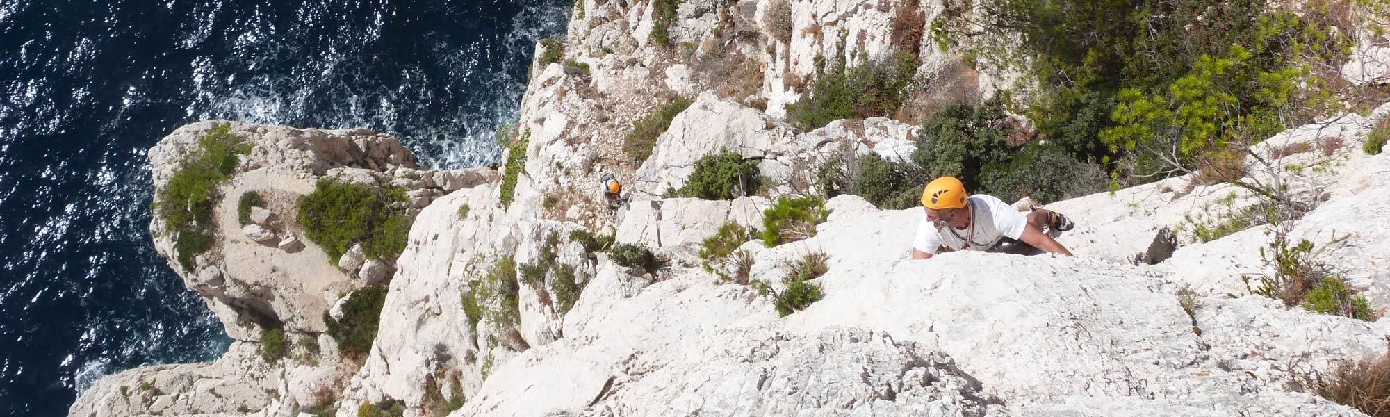 Séjour voile escalade Calanques