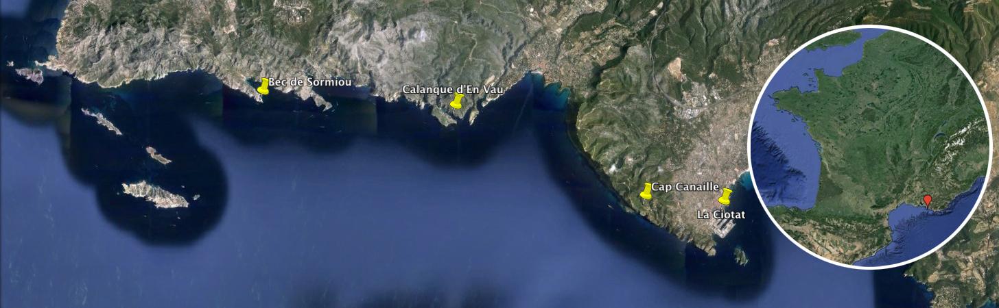 Séjour voile et escalade en grandes voies dans les Calanques de Marseille