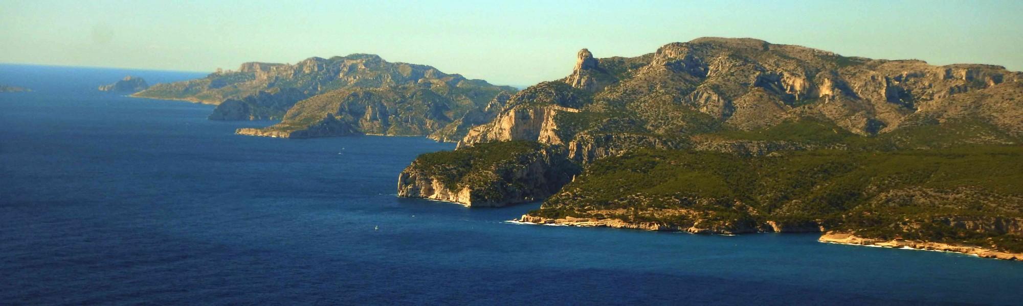 Calanques de Marseille - séjour voile et escalade