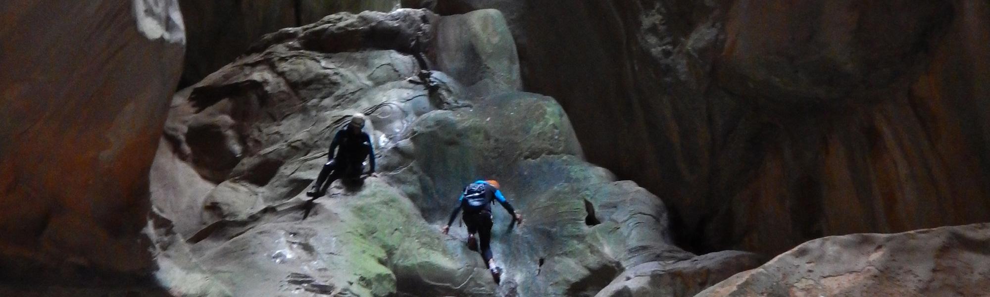 séjour voile et canyon à Majorque