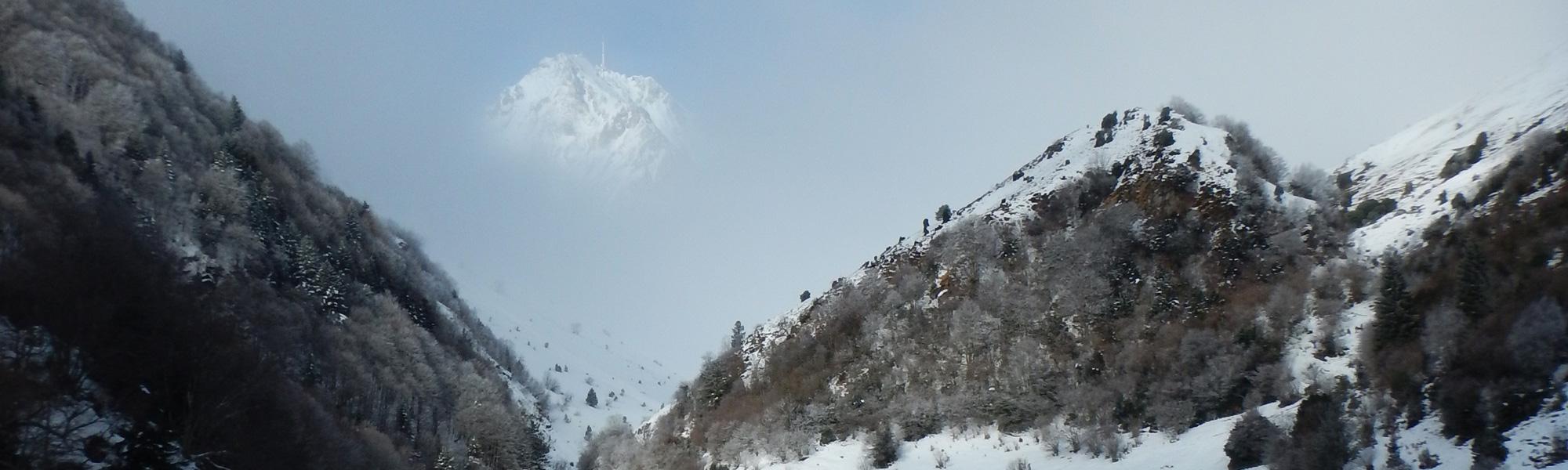 randonnée raquettes la mongie - pic du midi