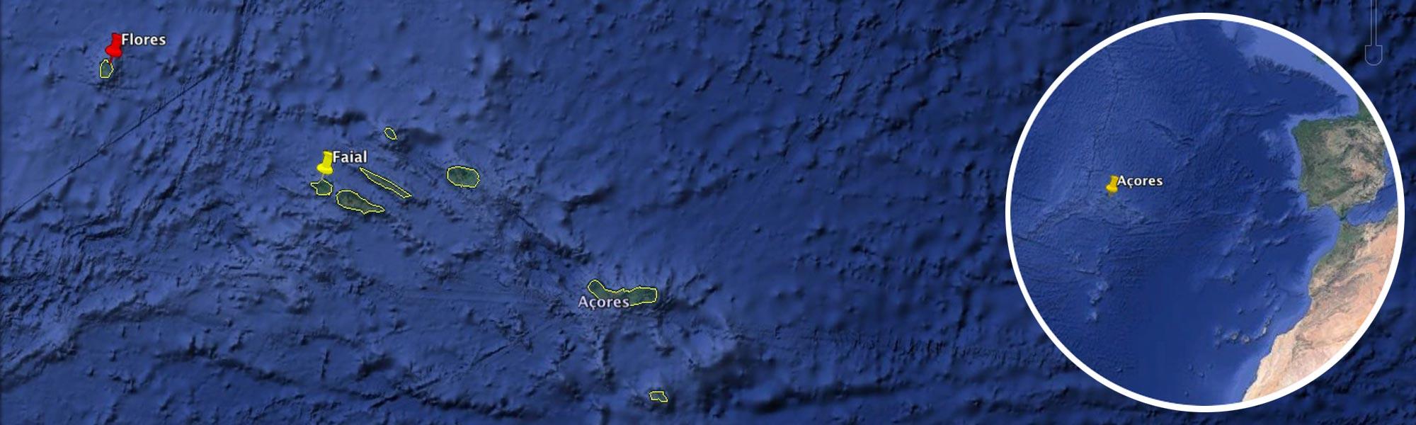 croisière voile et canyon sur Flores - Açores